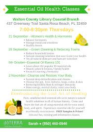 Santa Rosa Beach Florida Map by Essential Oil Basics 101 Tickets Thu Oct 5 2017 At 7 00 Pm