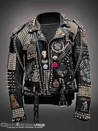 motor leather jacket harley museum to exhibit black leather jackets motorcycle usa