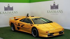 used lamborghini diablo 1998 lamborghini diablo sv rhd classic driver market
