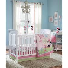 Girls Nursery Bedding Set by Disney Baby Minnie Mouse 4 Piece Crib Bedding Set Disney