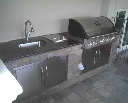 Outdoor Kitchen Sinks And Faucet Stainless Steel Doors For Outdoor Kitchen Home Designs