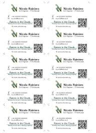 Create Qr Code For Business Card Template For A Business Card Using Latex Rainnic In The Clouds