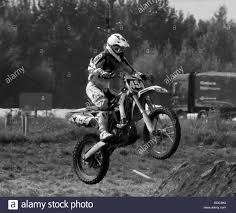 black motocross bike black u0026 white photo of a motocross bike u0026 rider stock photo