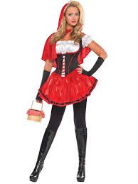 Halloween Costumes For Monster High Ladies Red Riding Hood Costume 996966 Fancy Dress Ball