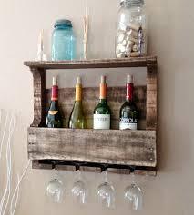 rustichand made great lakes reclaimed wood wine rack custom wall