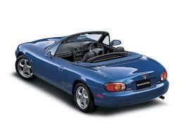 mazda roadster mazda roadster 1998 1999 2000 открытый кузов 2 поколение nb1