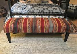 vintage rug ottomans play a starring or supporting role in any