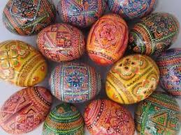 ukrainian egg assorted wooden painted ukrainian easter eggs pysanka pysanky
