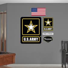 amazon com fathead u army logo graphic wall décor home u0026 kitchen