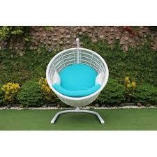 outdoor egg swing chair wayfair
