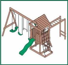 Simple Woodworking Project Plans Free by Wood Swingset Plans How To Build A Easy Diy Woodworking Projects