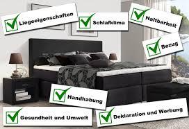 Schlafzimmer Komplett Fernando Stiftung Warentest Von Boxspringbetten In 2016 Reaktion