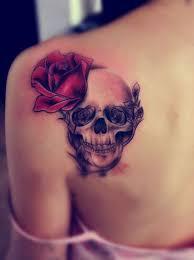 51 skull tattoos for men and women inspirationseek com