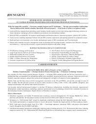 Sample Resume Senior Management Position by Executive Resume Samples