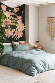 heathered jersey duvet cover urban outfitters home idea