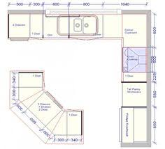 l shaped kitchen floor plans with island l shaped kitchen floor plans with dimensions corner pantry