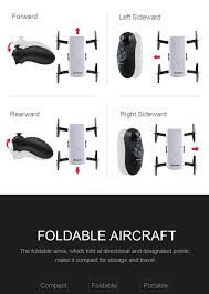 eachine e56 720p wifi fpv selfie drone with gravity sensor mode