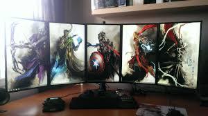 cool computer setups and gaming setups computer setups and