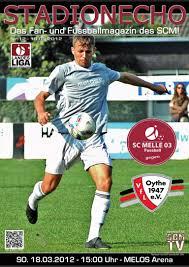 Sv Bad Rothenfelde Stadionecho Sc Melle 03 Gegen Vfl Oythe Fussball Landesliga Weser E U2026