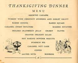 a thanksgiving menu from the hartman center the s tale