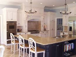 kitchen with l shaped island