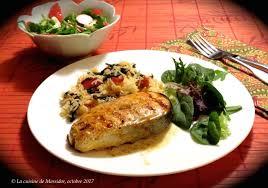 saumon cuisine fut la cuisine de messidor darnes de saumon bbq à l orange