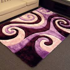 area rug purple rectangle gray oval and round trellis pattern