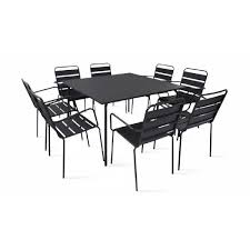 table salon de jardin carre achat vente table salon de jardin