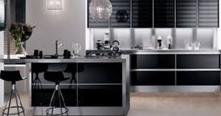 Black Or White Kitchen Cabinets Modern Kitchen Cabinets Black White And Brown Color Schemes