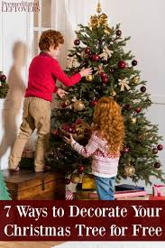7 ways to decorate your tree for free jpg