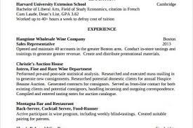 sample bartender resumes sample employment resume 6 bartender