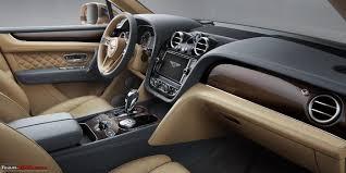 bentley cars 2016 bentley bentayga india launch scheduled for april 22 2016 team bhp