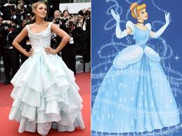 cannes 2016 blake lively channels cinderella in blue ball gown