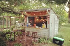 Backyard Bar Ideas Forget Caves Backyard Bar Sheds Are The New Trend