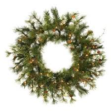 vickerman wreaths clear or white lights sears