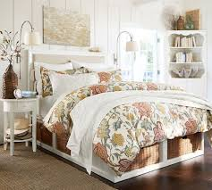 Pottery Barn Alessandra Duvet Perfect Sconce Lights For Reaching Over Top Of Bed Or Lowering