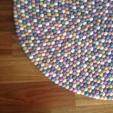 Felt Area Rugs Felt Rug Multicolored Pink Shade Felt Rugs