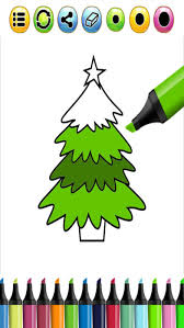christmas tree coloring book christmas game app store