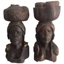haitian sculptures 5 for sale at 1stdibs