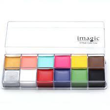 shop halloween 12 flash color palette cosmetics eye makeup