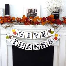 etsy thanksgiving decorations thanksgiving decorations banner give thanks banner