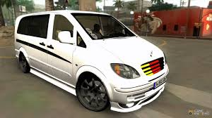 benz vito vip for gta san andreas