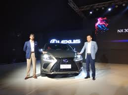 blue lexus nx lexus nx 300h hybrid suv unveiled india launch by january 2018