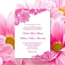 vintage lace wedding invitations vintage lace wedding invitation hot fuchsia pink wedding