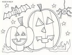 319 halloween fall color number unnumbered coloring