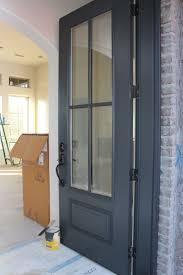 door painted in benjamin moore wrought iron one of the best dark