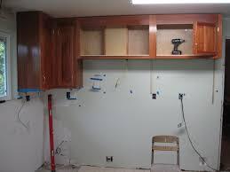 upper cabinet installation