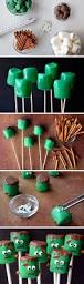 Halloween Party Appetizers For Adults by Frankenstein Marshmallow Pops Recipe Frankenstein Marshmallow