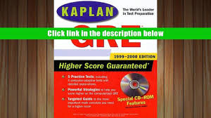 popular book kaplan gre 1999 2000 with cd rom for full video