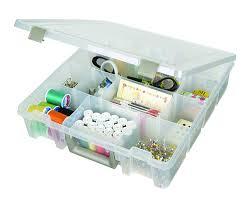 amazon com artbin super satchel removable dividers box art